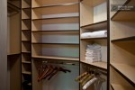 walk in closet at master