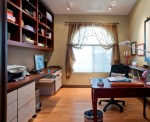 Office includes PC, printer, internet, and telephone
