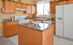 Kitchen has all amenities, everything needed for cooking for 10 or more.